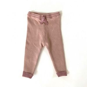 Zara Baby Girl Blush Leggings